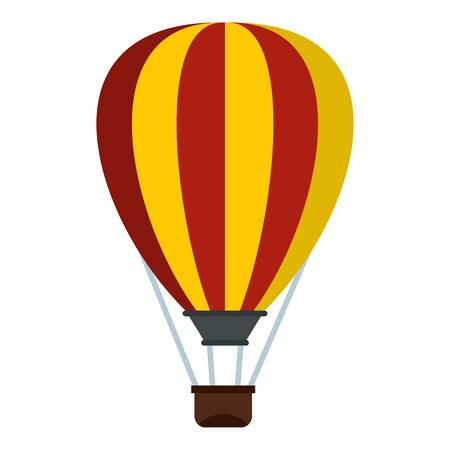 Balloon icon. Flat illustration of balloon vector icon for web Illustration