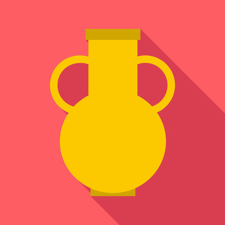 decorative urn: Pitcher icon. Flat illustration of pitcher vector icon for web
