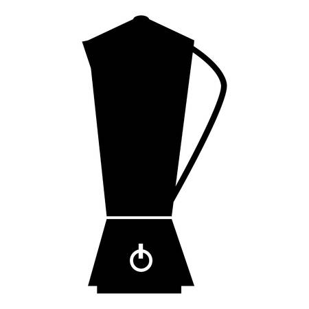 electric tea kettle: Metal electric kettle icon. Simple illustration of metal electric kettle vector icon for web