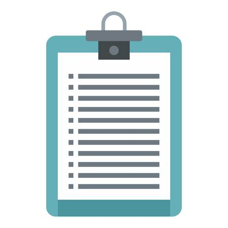 Plane tablet icon. Flat illustration of plane tablet vector icon for web