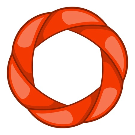 Shutter icon. Cartoon illustration of shutter vector icon for web design