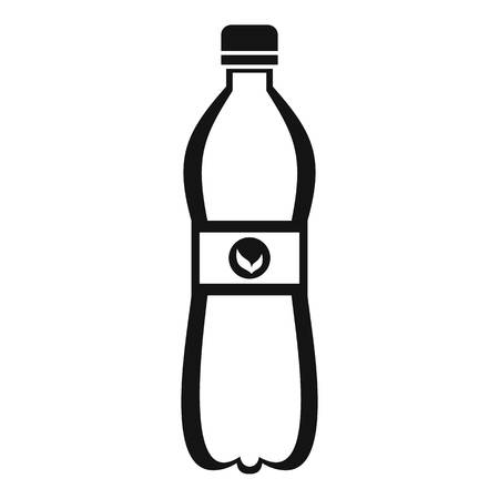Bottle of water icon. Simple illustration of bottle of water vector icon for web