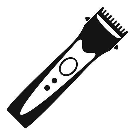 clipper: Clipper icon. Simple illustration of clipper vector icon for web