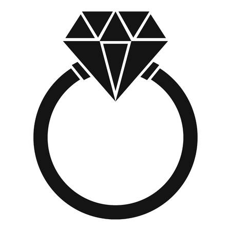 community recognition: Ring   icon. Simple illustration of ring   vector icon for web