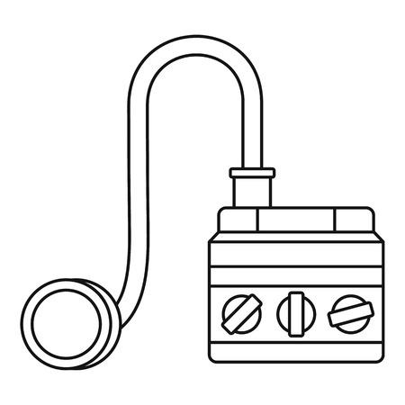 detonator: Detonator icon. Outline illustration of detonator vector icon for web Illustration