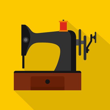 Sewing Machine Icon Flat Illustration Of Sewing Machine Vector Awesome Sewing Machine Vector Free