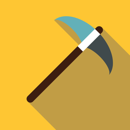 Pick tool icon. Flat illustration of pick tool vector icon for web Illustration