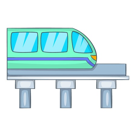 high speed train: Train icon. Cartoon illustration of train vector icon for web