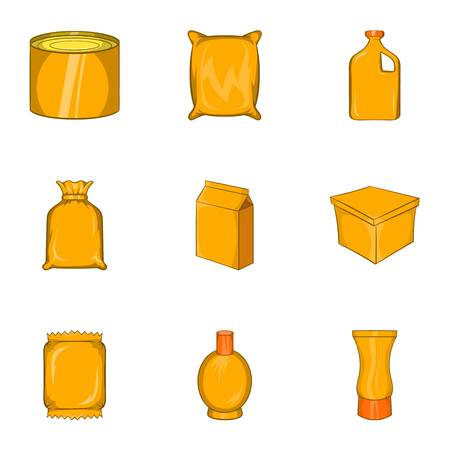 packaging icons set cartoon illustration of 9 packaging vector rh 123rf com vector packaging design vector packaging fort worth
