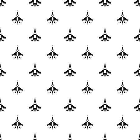 fighter plane: Jet fighter plane pattern. Simple illustration of jet fighter plane vector pattern for web Illustration