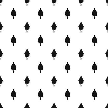 columnar: Columnar tree pattern. Simple illustration of columnar tree vector pattern for web