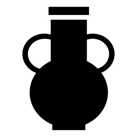 decorative urn: Pitcher icon. Simple illustration of pitcher vector icon for web design