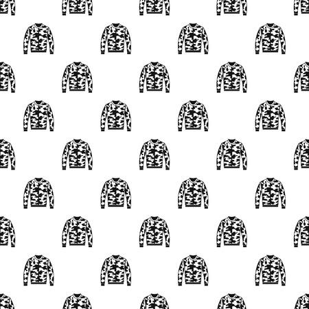 zipper hooded sweatshirt: Camouflage jacket pattern. Simple illustration of camouflage jacket vector pattern for web