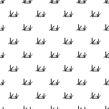 penknife: Multifunction knife pattern. Simple illustration of multifunction knife vector pattern for web Illustration