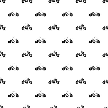 motobike: Motobike pattern. Simple illustration of motobike vector pattern for web