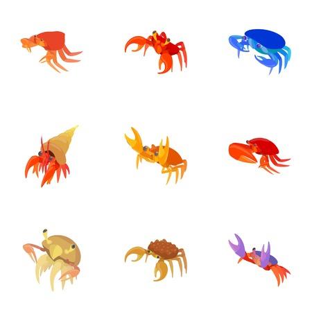 omar: Omar icons set. Cartoon illustration of 9 omar vector icons for web