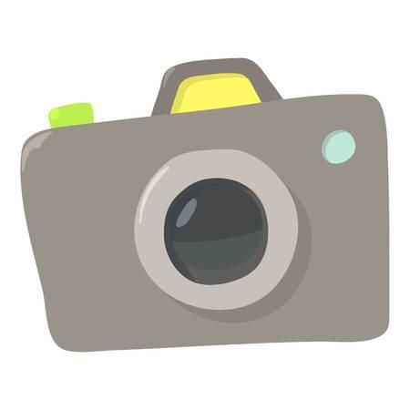 photocamera: Photocameraicon. Cartoon illustration of photocamera vector icon for web