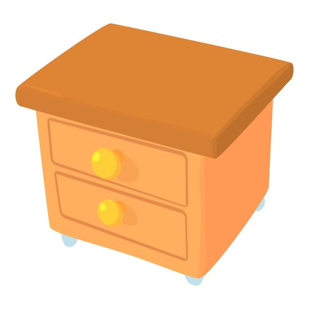 joinery: Commode icon. Cartoon illustration of commode vector icon for web Illustration