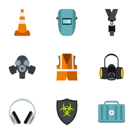 plasterer: Repair tools icons set. Flat illustration of 9 repair tools vector icons for web