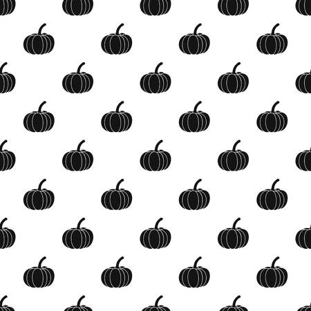 gourds: Pumpkin pattern. Simple illustration of pumpkin vector pattern for web Illustration