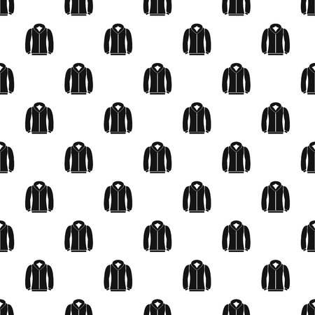 zipper hooded sweatshirt: Sweatshirt pattern. Simple illustration of sweatshirt vector pattern for web