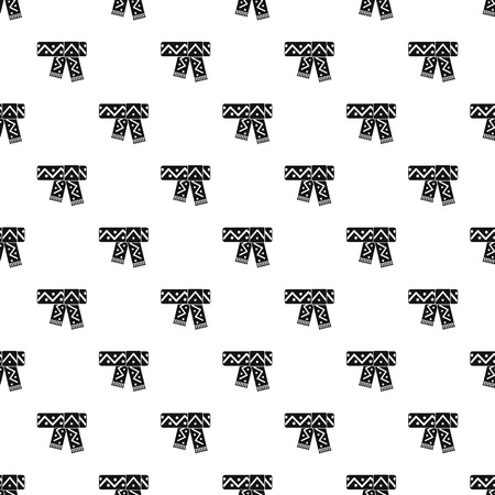 cashmere: Scarf pattern. Simple illustration of scarf vector pattern for web Illustration