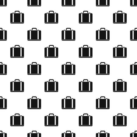 Suitcase pattern. Simple illustration of suitcase pattern for web Illustration