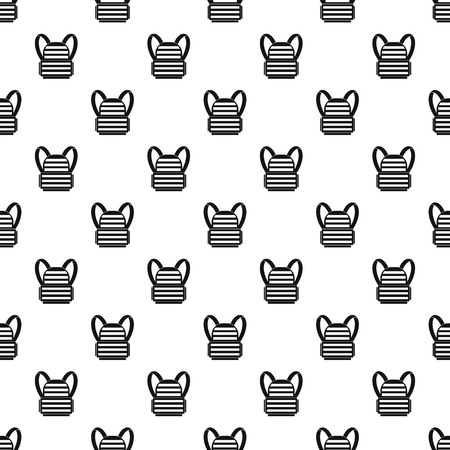 Bulletproof vest pattern. Simple illustration of bulletproof vest pattern for web Vektoros illusztráció