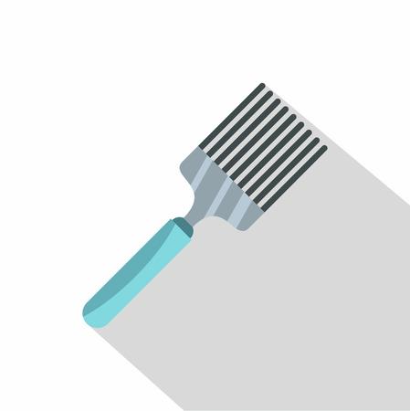 heatproof: Kitchen spatula icon. Flat illustration of kitchen spatula icon for web design