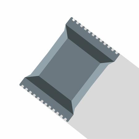 napkins: Napkins pack icon. Flat illustration of napkins pack icon for web