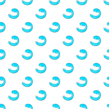 Water wave pattern. Cartoon illustration of water wave vector pattern for web