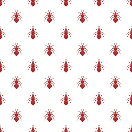 invasive: Ant pattern. Cartoon illustration of ant vector pattern for web