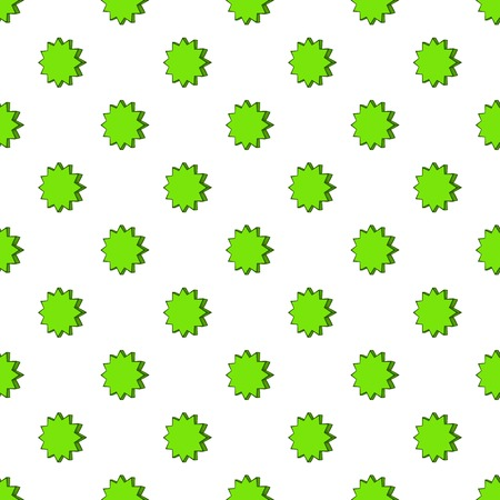 scalloped: Scalloped star pattern. Cartoon illustration of scalloped star vector pattern for web