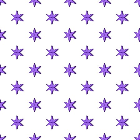 heavenly: Heavenly six pointed star pattern. Cartoon illustration of heavenly six pointed star vector pattern for web Illustration