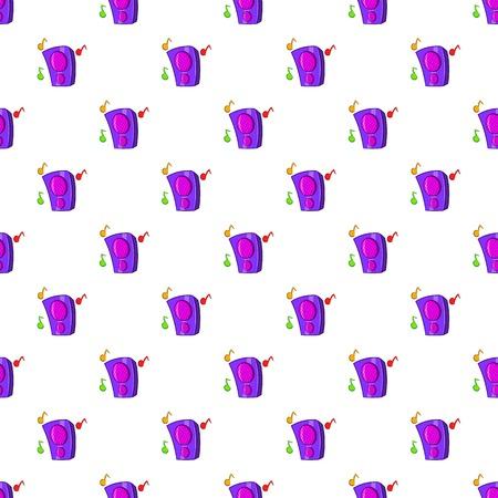 surround system: Music column pattern. Cartoon illustration of music column vector pattern for web