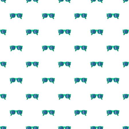 personal ornaments: Glasses pattern. Cartoon illustration of glasses vector pattern for web