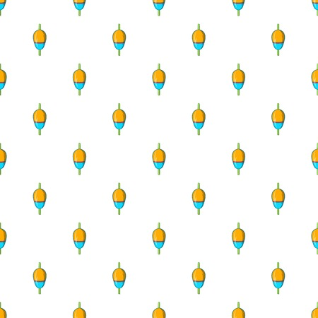 bobber: Bobber pattern. Cartoon illustration of bobber vector pattern for web