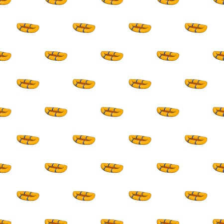 inflatable: Inflatable boat pattern. Cartoon illustration of inflatable boat vector pattern for web