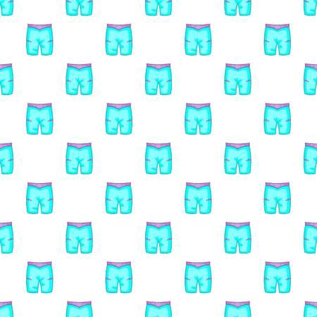boardshorts: Blue shorts for swimming pattern. Cartoon illustration of blue shorts for swimming vector pattern for web Illustration