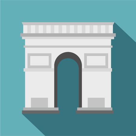 triumphal arch: Triumphal Arch icon. Flat illustration of Triumphal Arch vector icon for web
