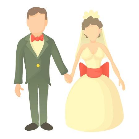 Wedding icon. Cartoon illustration of wedding vector icon for web