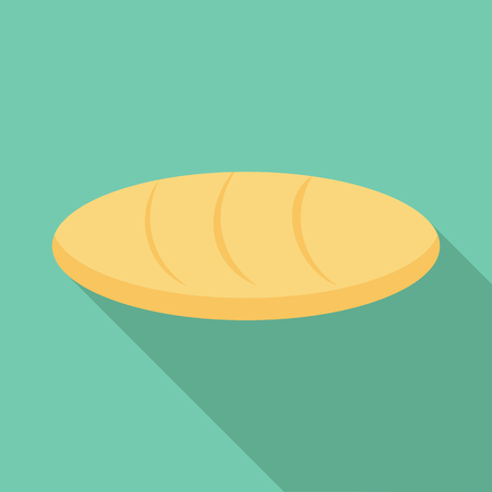 Loaf icon. Flat illustration of loaf vector icon for web