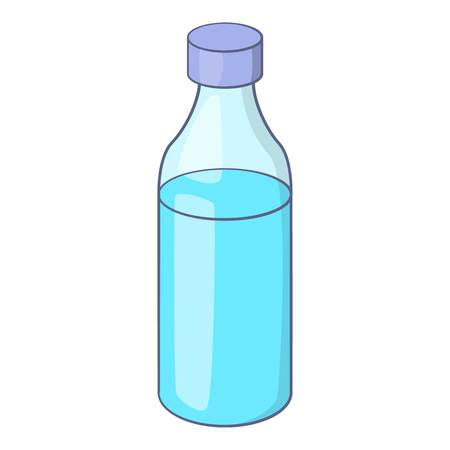 purified: Bottle icon. Cartoon illustration of bottle vector icon for web