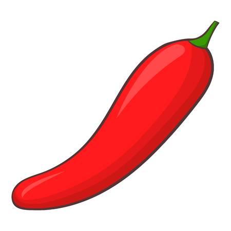 srilanka: Pepper icon. Cartoon illustration of pepper vector icon for web