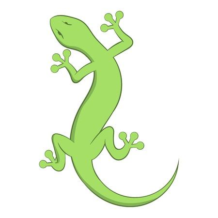 Lizard icon. Cartoon illustration of lizard vector icon for web Stock Illustratie
