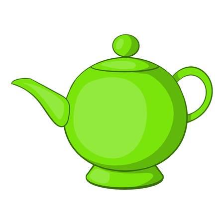 srilanka: Teapot icon. Cartoon illustration of teapot vector icon for web