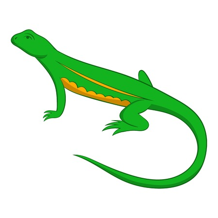 salamandre: Salamander icon. Cartoon illustration of salamander vector icon for web