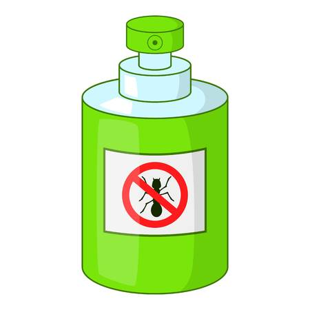 pulverizer: Insecticide icon. Cartoon illustration of insecticide vector icon for web