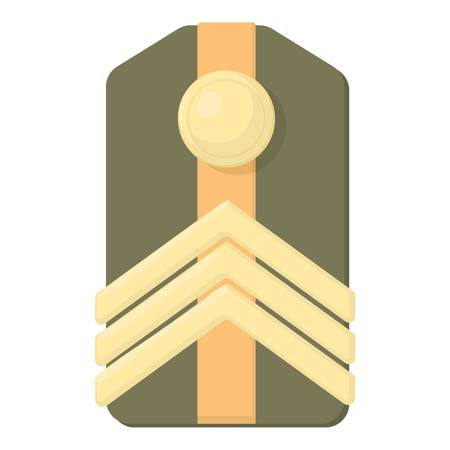distinguishing: Shoulder straps icon. Cartoon illustration of shoulder straps vector icon for web