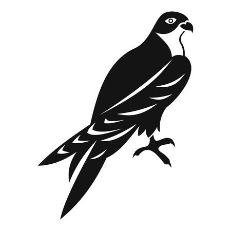 Falcon icoon. Eenvoudige illustratie van valk vector pictogram voor web